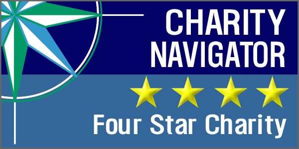 Charity Navigator Logo - 4 Star Recipient.