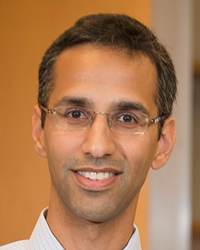 Deepak Rao, MD, PhD, a rheumatologist at Brigham and Women's working to find more precise RA treatments.