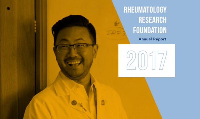 2017 Rheumatology Research Foundation Annual Report Cover