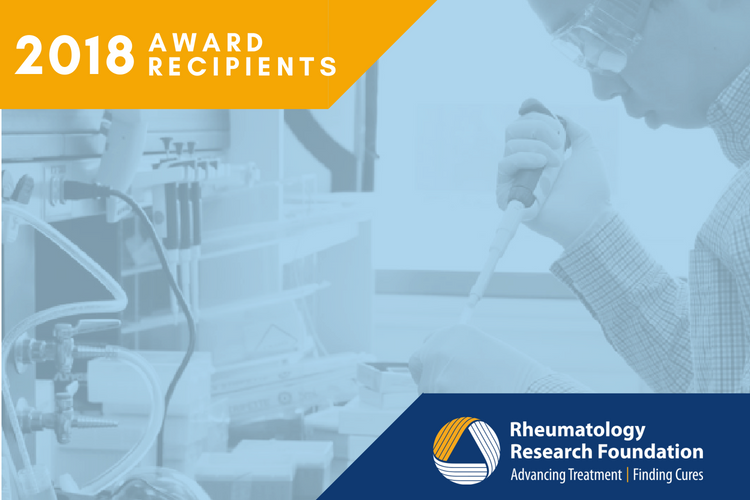 Recipients of Rheumatology Research Foundation Awards.