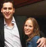 Rheumatoid arthritis patient Ali Berger and her boyfriend.