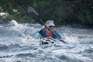 Priscilla McKenney kayaks and mountain climbs despite rheumatoid arthritis.