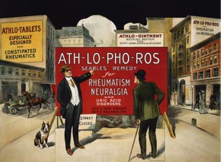"""1997 Annual Gout Print """"ATH-LO-PHO-ROS."""""""