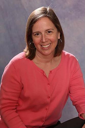 Rheumatoid arthritis patient Melissa Young.