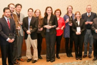 Recipients of Rheumatology Research Foundation Awards.