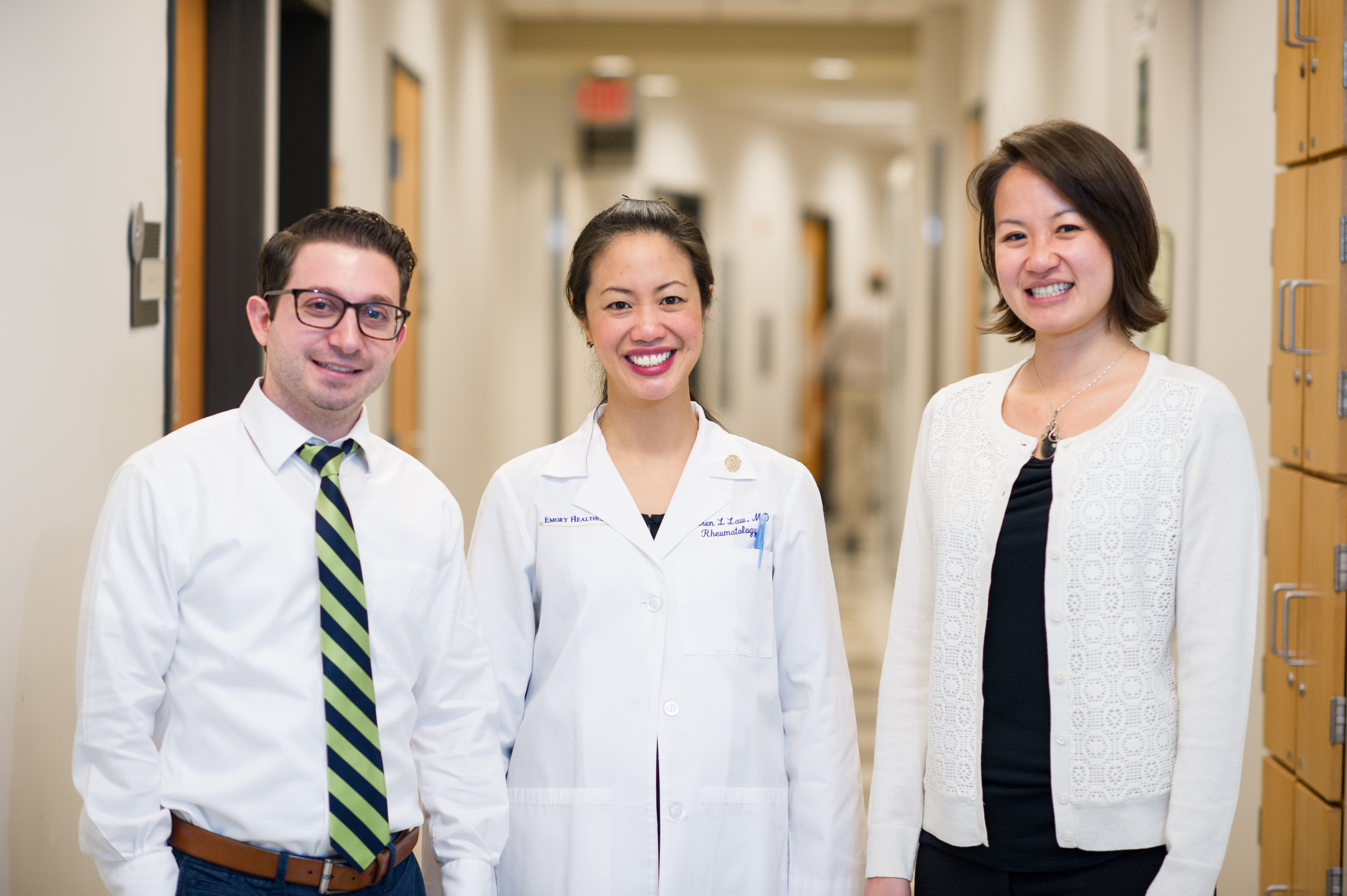 Three rheumatologists from the labs at Emory University