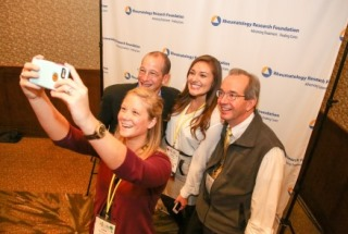 Medical students and residents participate in a photo contest at the ACR/ARHP Annual Meeting.