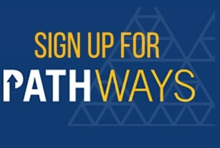 Rheumatology Research Foundation logo to sign up for Pathways newsletter.