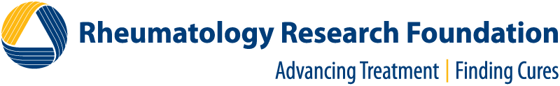Rheumatology Research Foundation logo.
